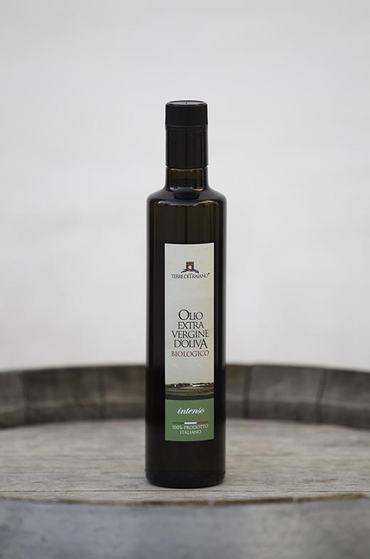 Olio extravergine d'oliva biologico Terre di Traiano