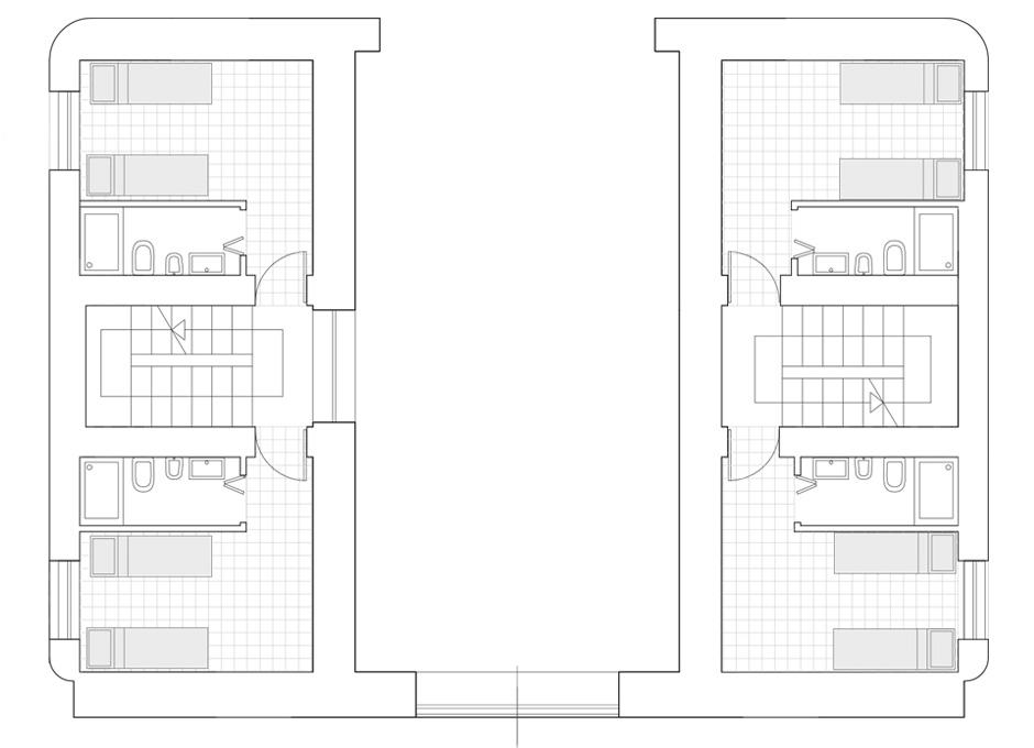 Luminose camere con bagno, Masseria Terre di Traiano, stanze doppie